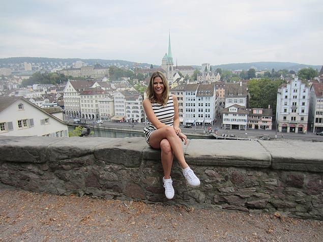 Tour: Didi Wagner vai explorar as atrações da  Suíça, mostrando as curiosidades da região na nova temporada do programa 'Lugar Incomum' (Multishow) (Crédito: Divulgação)