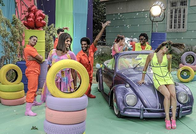 Purpurina: Luís Miranda gravou um musical em que dupla 'Tudo Tão Quieto', de Elza Soares, para o capítulo desta quarta (24) de 'Geração Brasil', da Globo