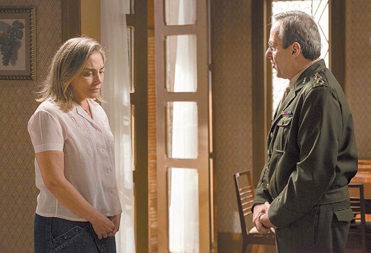 REVELAÇÃO: Elísio (Daniel Dantas) vai descobrir que foi traído pela esposa, Beatriz (Heloísa Périssé), em 'Boogie Oogie' (Globo), em cena de segunda-feira (17) (crédito: Elles Soares/Globo)