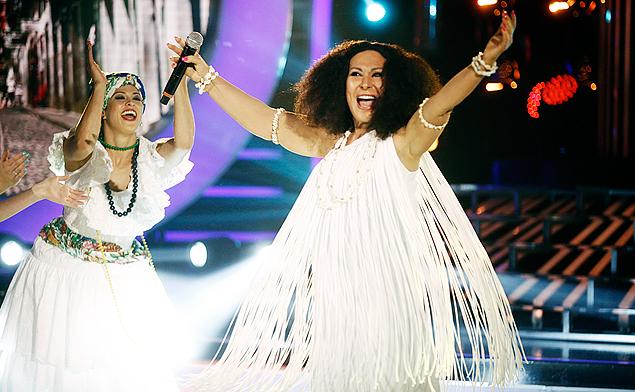 MORENA DE ANGOLA: No próximo programa do 'Esse Artista Sou Eu', na segunda-feira (17), às 23h,  a cantora Rosemary faz sua apresentação de Clara Nunes (crédito: Divulgação)
