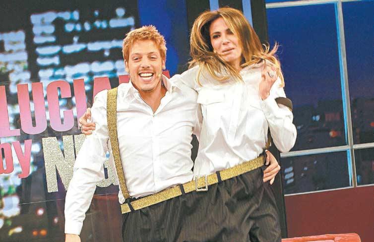 VIP: Fábio Porchat apronta todas com Luciana Gimenez nesta terça (25), às 23h, no especial em comemoração aos dois anos do Luciana by Night' (RedeTV!) (crédito: Vieira Press/Divulgação)