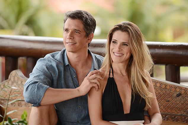 """FACHADA: Ingrid Guimarães e Márcio Garcia são um casal perfeito em """"Loucas pra Casar"""", filme que desconstrói o casamento, com estreia em janeiro (crédito: Paprica Fotografia)"""