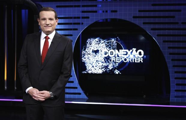 """REFORMA A partir de março, o """"Conexão Repórter"""" (SBT), de Roberto Cabrini, mudará para os domingos à meia noite e ganhará novo cenário (Foto: Lourival Ribeiro/SBT)"""