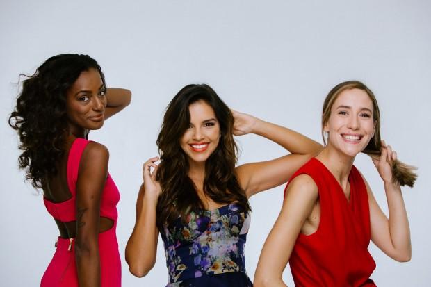 """BELEZA Patrícia Dejesus, Mariana Rios e Paola de Orleans e Bragança fazem parte do novo time do programa """"Superbonita"""", do GNT (Foto: Elisa Mendes/GNT)"""