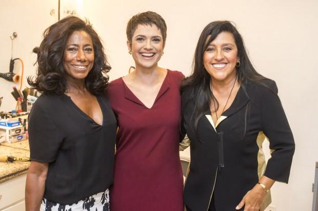 campanha Glória Maria, Sandra Annenberg e Regina Casé estarão no especial da Globo para o Dia Internacional da Mulher, que irá ao ar nos dias 7 e 8 (Foto: Renato Rocha Miranda/Globo)