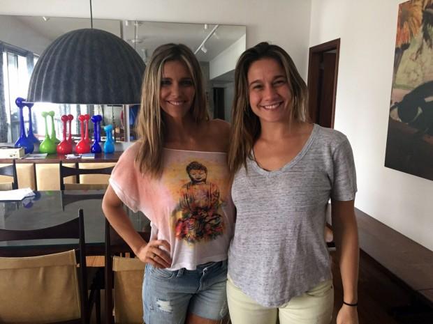 BEBÊ No próximo 'Mamãe Gentil', no Esporte Espetacular (Globo), que vai ao ar no domingo (29), Fernanda Gentil entrevistará Fernanda Lima (Foto: Divulgação)