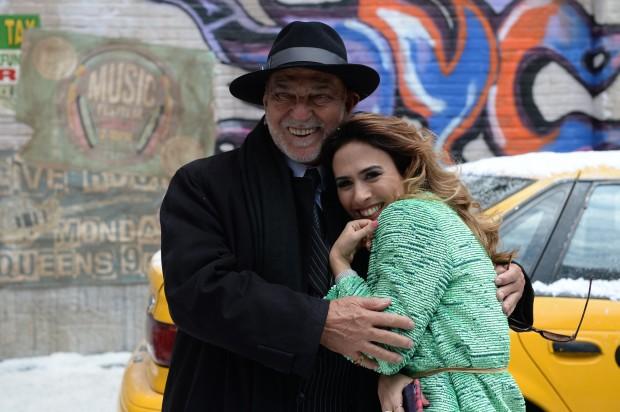 """CHEFÃO Lima Duarte será um mafioso em """"I Love Paraisópolis"""", próxima novela das 19h; ele ficará muito próximo de Danda (Tatá Werneck) (Foto: Zé Paulo Cardeal/Globo)"""