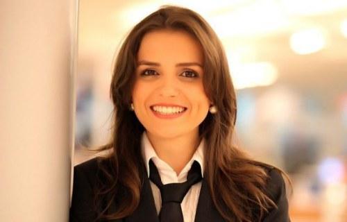 """Mônica Iozzi quando ainda integrava o time do """"CQC"""", da Band"""