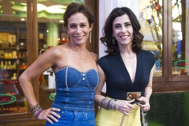 Andréa Beltrão (à esq.) e Fernanda Torres (Caiuá Franco/Divulgação)