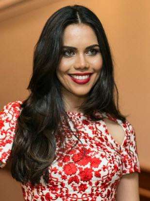 A apresentadora Daniela Albuquerque (Bruno Poletti/Folhapress)
