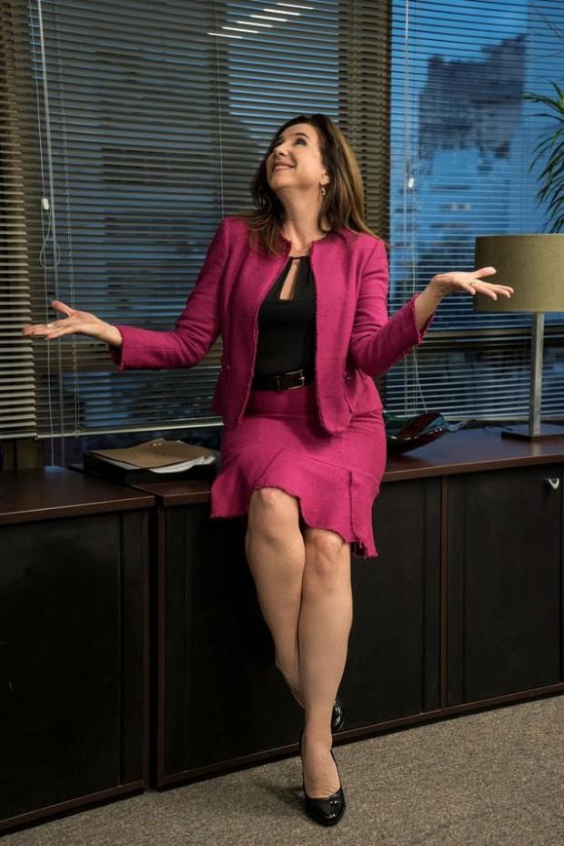 Marisa Orth em 'Odeio Segundas'  (Crédito: Rachel Tanugi/Divulgação)