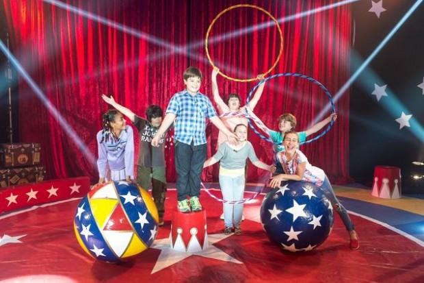 Prova do 'MasterChef Júnior' em um circo (Divulgação)