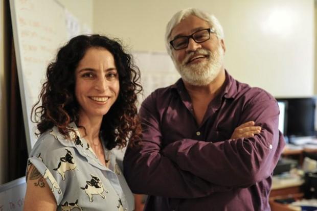 Os autores Rosane Svartman e Paulo Halm (Divulgação)