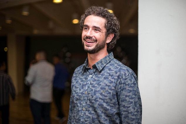 O jornalista Felipe Andreoli - crédito Bruno Poletti/Folhapress