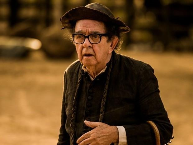 O ator Umberto Magnani, que interpretava o padre Romão (Divulgação)