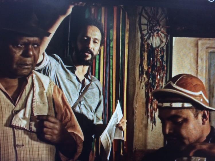 Chico Criatura, Bento e Targino em cena de 'Velho Chico' (Globo)(Reprodução)
