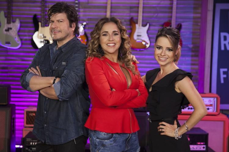 Paulo Ricardo, Daniela Mercury e Sandy (Divulgação)