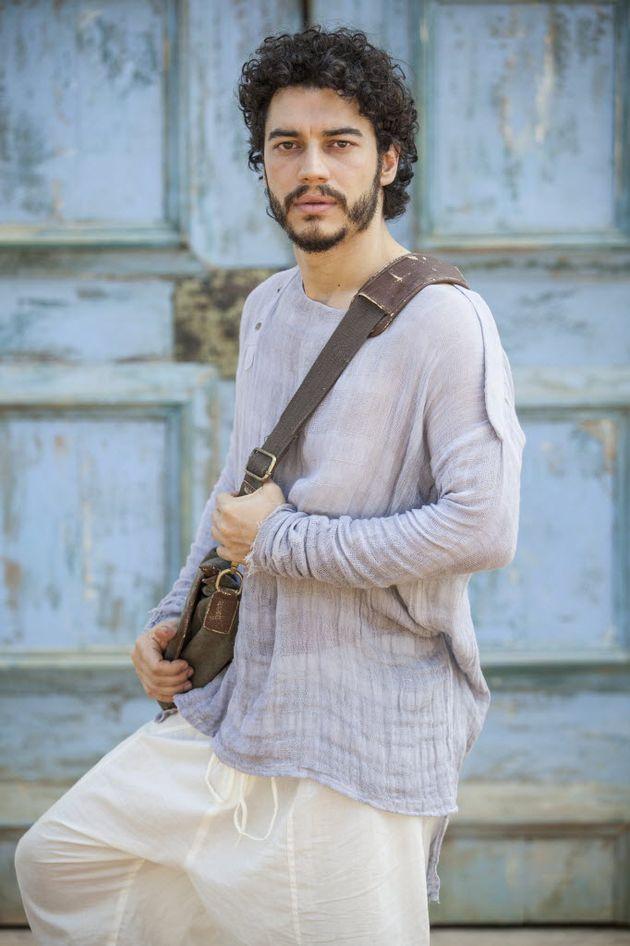 Lee Taylor como Martim (Pedro Curi/Divulgação)