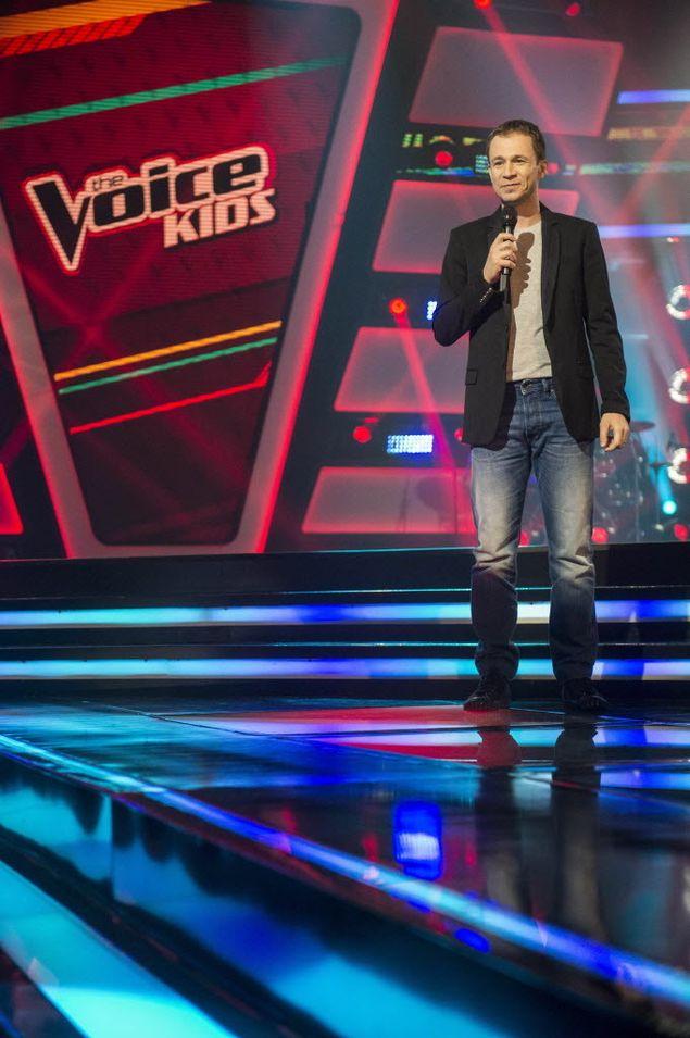 Tiago Leifert no 'The Voice Kids' (Renato Rocha Miranda/Divulgação)