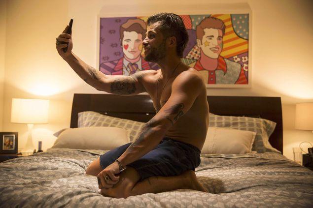 Bruno Gagliasso no filme 'TOC' (Fabio Braga/Divulgação)