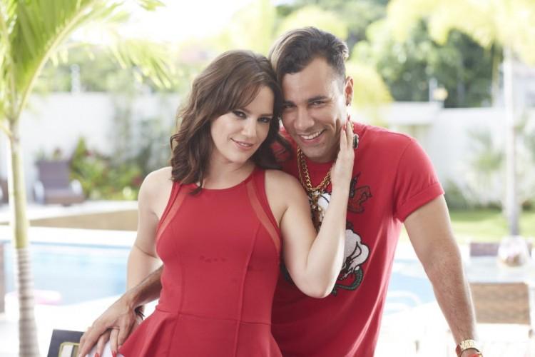 Rodrigo Sant'Anna contracena com Natalia Lage em 'Suburbanos' (Multishow) (Divulgação)