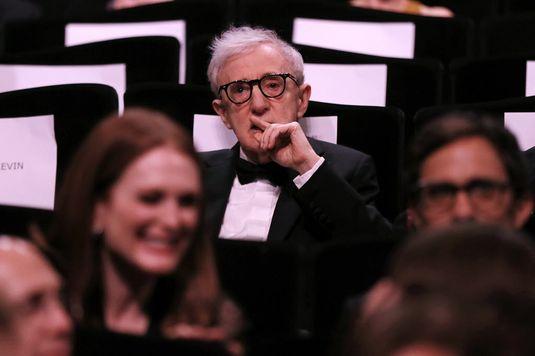 O cineasta americano Woody Allen no Festival de Cannes (Valery Hache/ AFP)