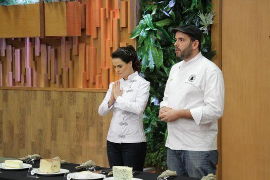 A chef Danielle Dahoui e o queijeiro Bruno Cabral (Gabriel Gabe/Divulgação)