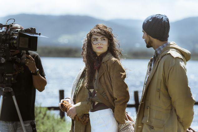 Maria Casadevall grava no Chile a novela 'Os Dias Eram Assim' (Mauricio Fidalgo/Divulgação)